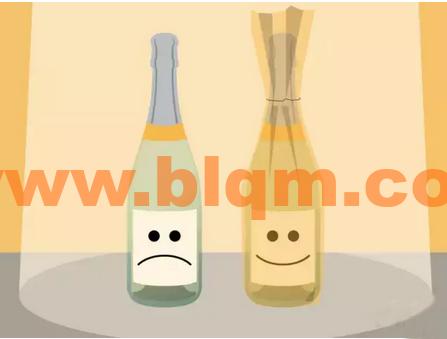 葡萄酒橱窗摆设图片